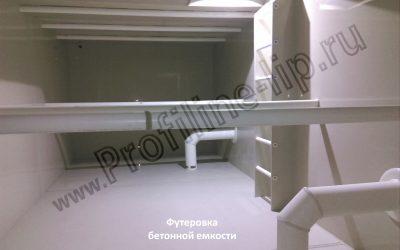 Футеровка помещения, емкости