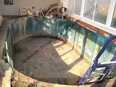 Переделка сборного бассейна