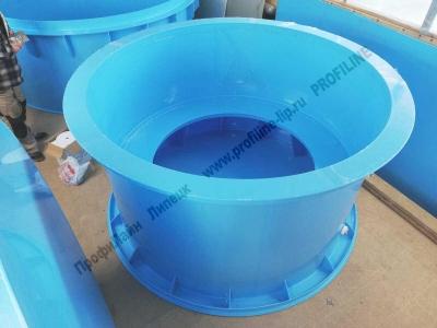 Купель из пластика с круговым сидением